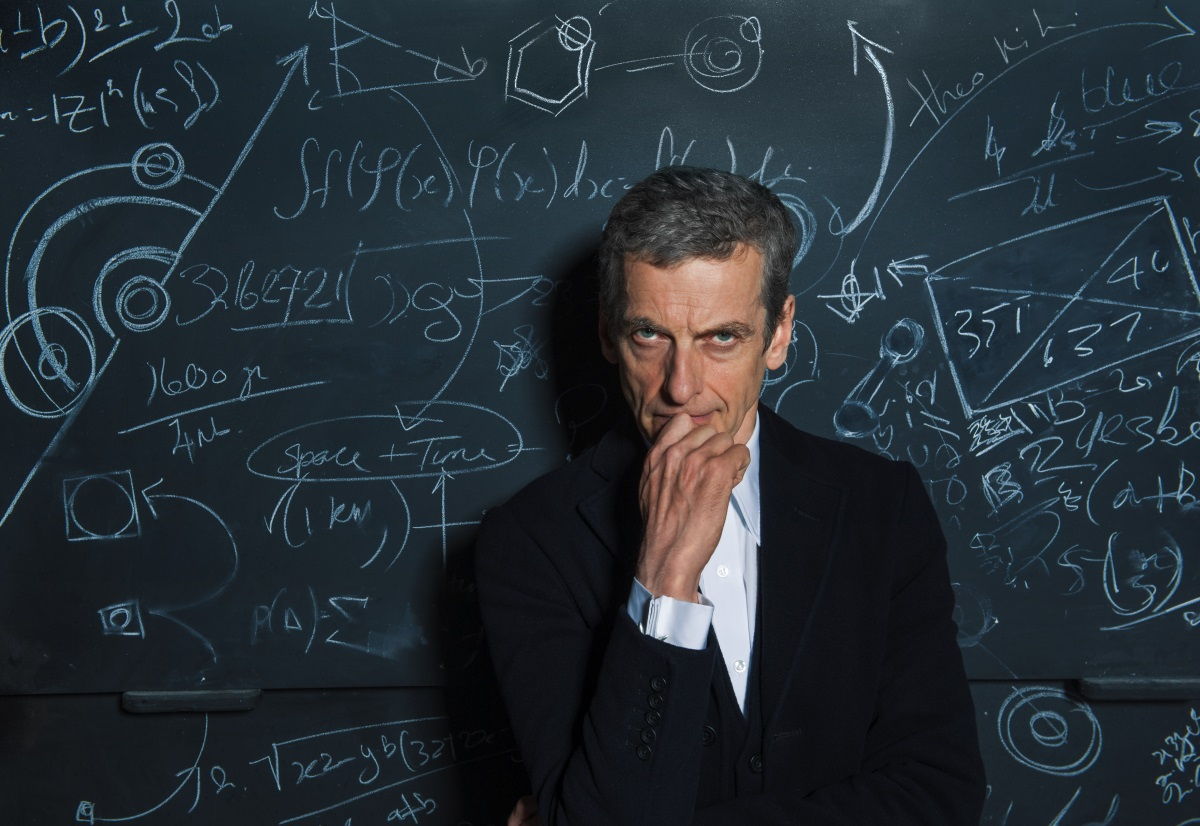 Picture shows: Peter Capaldi as The Doctor/ BBC