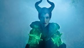 Angelina Jolie as Maleficent Throws Magic