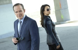 "MARVEL'S AGENTS OF S.H.I.E.L.D. - ABC's ""Marvel's Agents of SHIELD"" stars Clark Gregg as Agent Phil Coulson and Ming-Na Wen as Agent Melinda May. (ABC/Bob D'Amico)"