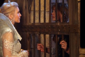 "ONCE UPON A TIME - ""Family Business"" - The race is on to track down the elusive Snow Queen, who was once a foster mother to a young Emma - whose memories of this event have been erased - in order to discover what her ultimate end game is for Elsa and the residents of Storybrooke, and unaware that she does not possess the real blade that controls The Dark One, Belle attempts to use it to get her reluctant husband to show her where the Snow Queen is hiding. Meanwhile, back in the past, Belle travels to Arendelle and, with Anna's help, seeks out Grand Pabbie to help her regain her lost memories in order to discover the fate of her mother, on ""Once Upon a Time,"" SUNDAY, NOVEMBER 2 (8:00-9:00 p.m., ET) on the ABC Television Network. (ABC/Jack Rowand) ELIZABETH MITCHELL, ELIZABETH LAIL"
