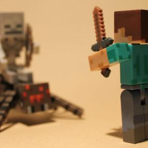 Minecraft Steve / Flickr user George