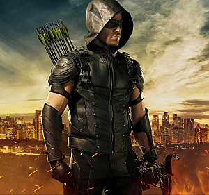 Arrow -- Pictured: Stephen Amell as The Arrow -- Photo: JSquared Photography/The CW -- © 2015 The CW Network, LLC. All rights reserved.