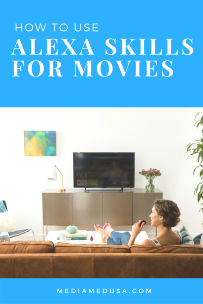 Alexa Skills for Movies Pin