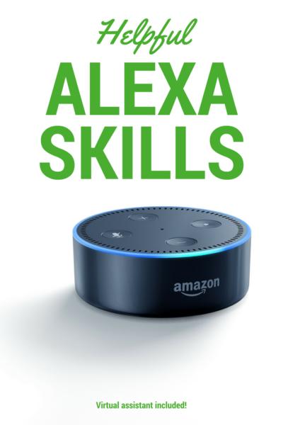 Amazons Alexa Skills Pin