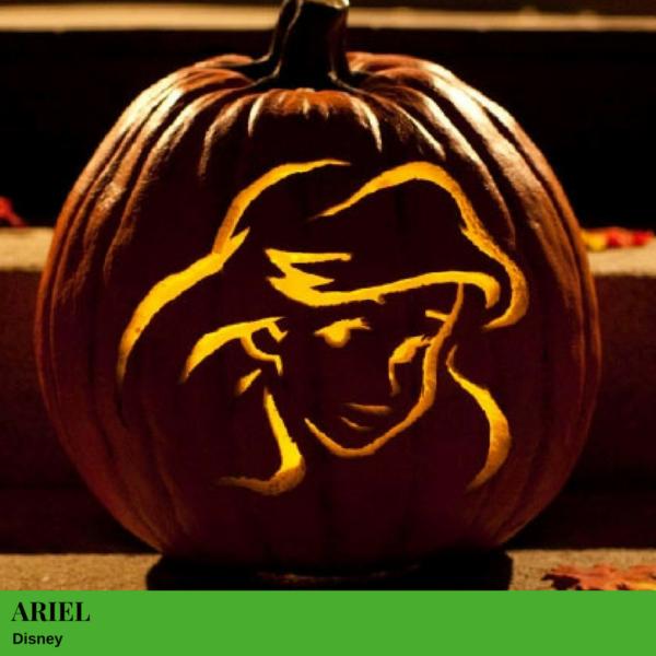 Ariel Jack-O'-Lantern