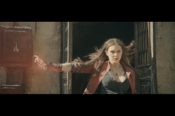 Elizabeth Olsen as Scarlet Witch in Avengers: Age of Ultron / Marvel / Disney
