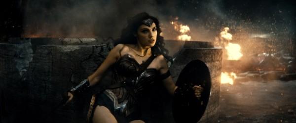 Gail Gadot as Wonder Woman in 'Batman v Superman' / Warner Bros.