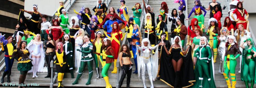 X-Men Ladies Media Medusa Header