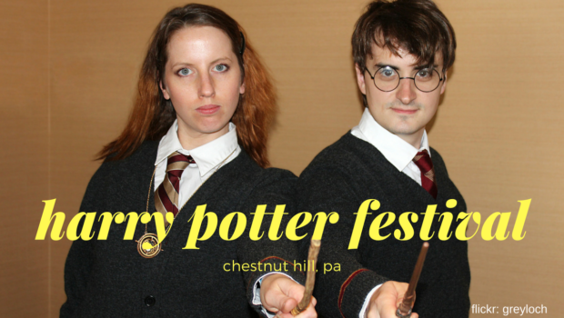 Hermione and Harry Potter Look Alikes