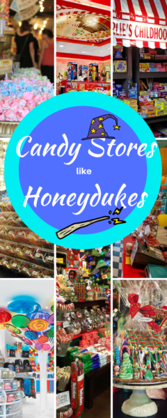 Candy Stores Like Honeydukes Pin