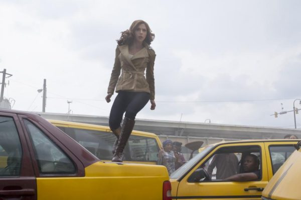 Scarlett Johansson as Black Widow in 'Captain America: Civil War'
