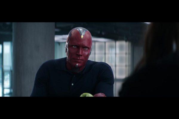 Paul Bettany as Vision in 'Captain America: Civil War'