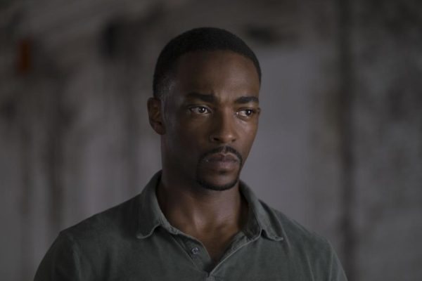Anthony Mackie as Sam Wilson in 'Captain America: Civil War'