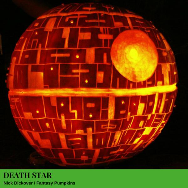 Death Star Jack-O'-Lantern