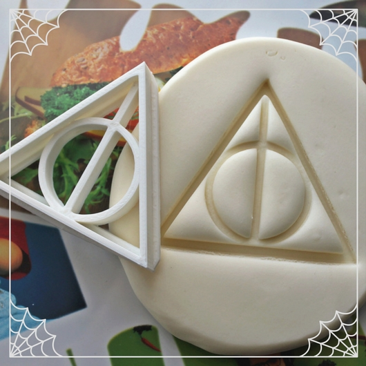 Deathly Hallows Cookie Cutter