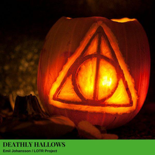 Deathly Hallows Jack-O'-Lantern