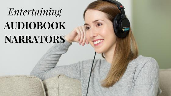 Entertaining Audiobook Narrators