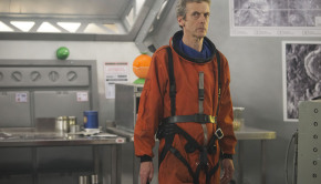 Picture shows: Peter Capaldi as The Doctor / BBC
