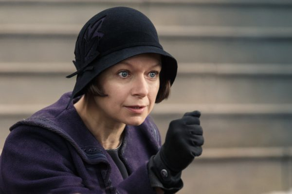"Copyright: © 2016 WARNER BROS ENTERTAINMENT INC. ALL RIGHTS RESERVED Photo Credit: Jaap Buitendijk Caption: SAMANTHA MORTON as Mary Lou Barebone in Warner Bros. Pictures' fantasy adventure ""FANTASTIC BEASTS AND WHERE TO FIND THEM,"" a Warner Bros. Pictures release."