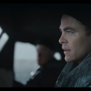 Chris PIne is Bernie Webber in Disney's THE FINEST HOURS, a heroic action-thriller based on the extraordinary true story of the most daring rescue in the history of the Coast Guard.
