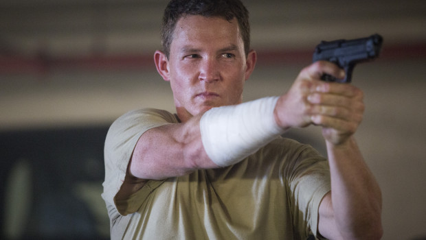 Shawn Hatosy as Corporal Andrew Adams - Fear The Walking Dead _ Season 1, Episode 6 - Photo Credit: Justina Mintz/AMC