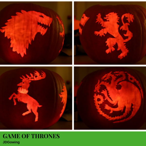 Game of Thrones Jack-O'-Lantern