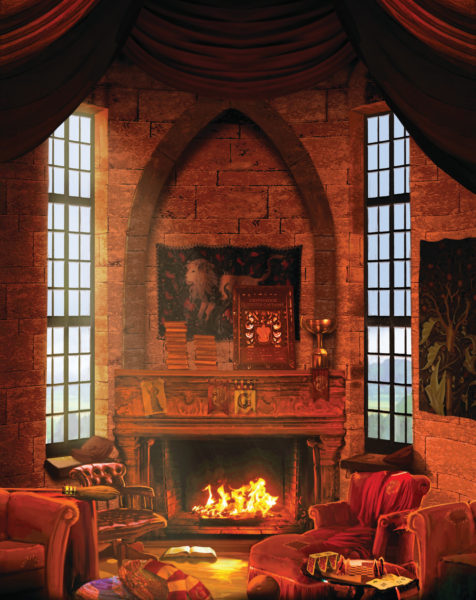 Gryffindor Common Room from Pottermore