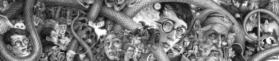 Harry Potter Cover Art Brian Selznick Scholastic