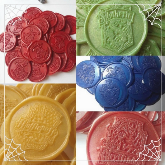 Harry Potter Hogwarts Wax Seals