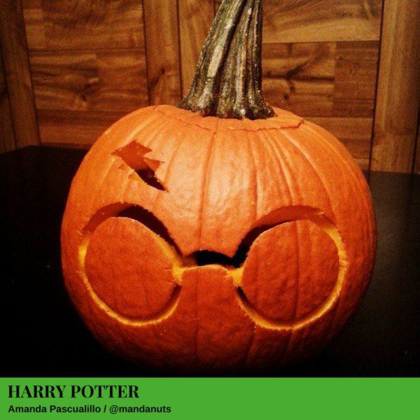 Harry Potter Jack-O'-Lantern