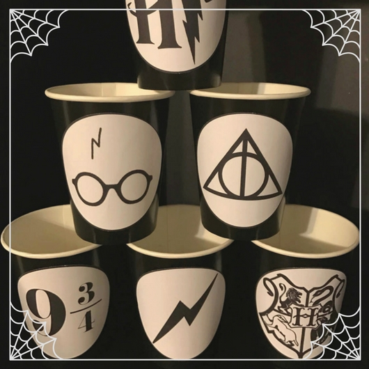 Harry Potter Party Cups