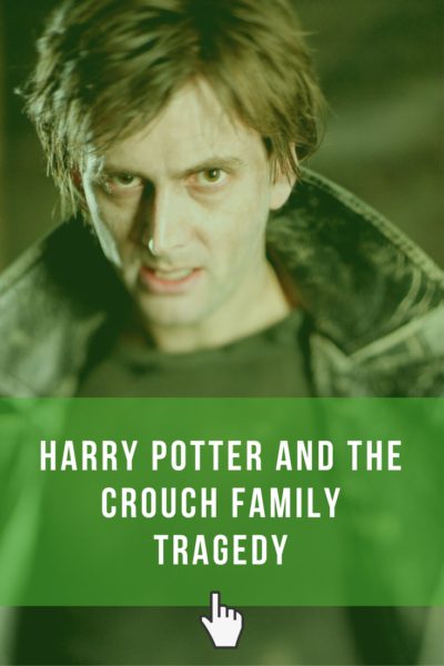 Harry Potter and the Crouch Family Tragedy. Why there is more to the story than you know.