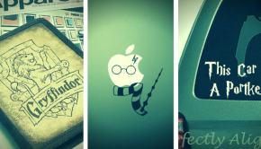 Harry Potter Decals on Etsy