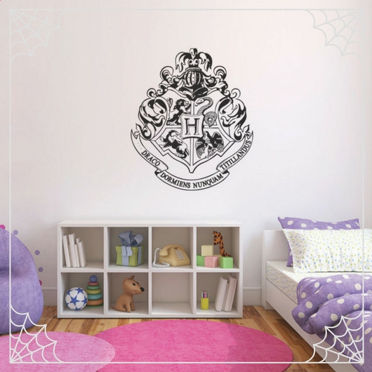 Hogwarts Crest Wall Decal
