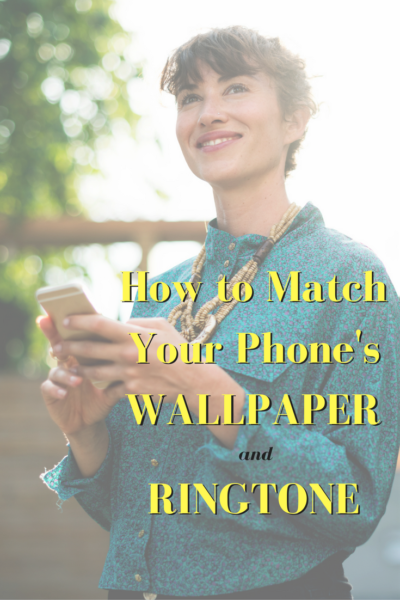 Tutorial: How to Match Your Phone's Wallpaper and Ringtone