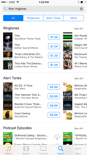 Search Results for Ringtones