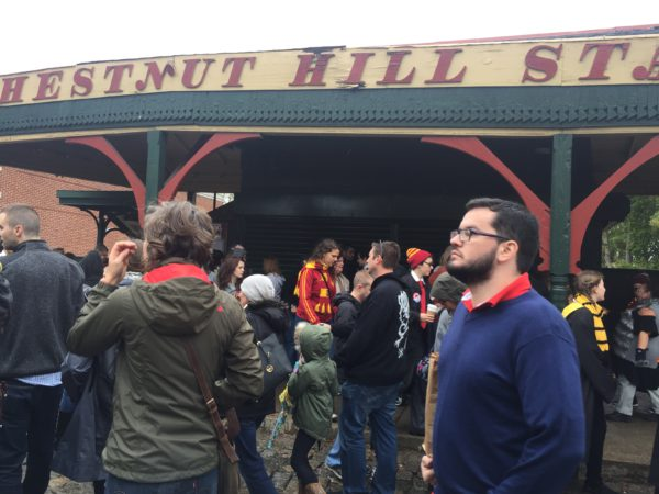 Chestnut Hill Train Station