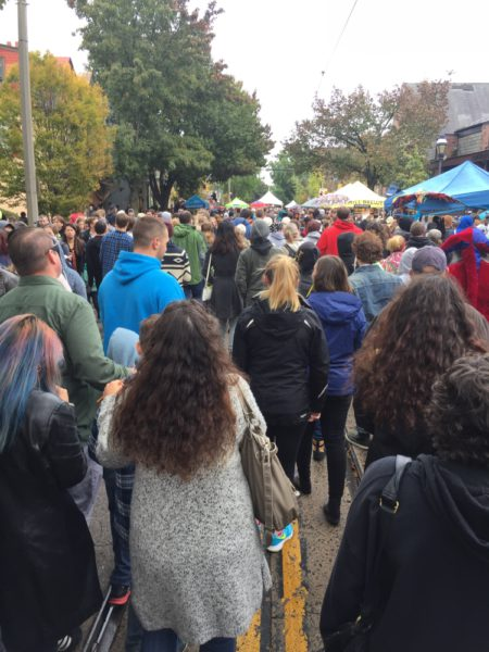 Harry Potter Festival Crowd