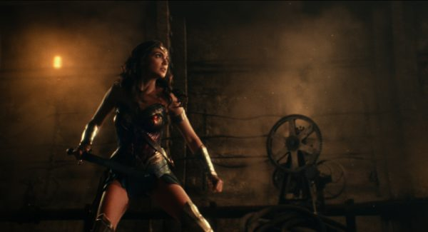 "GAL GADOT as Wonder Woman in Warner Bros. Pictures' action adventure ""JUSTICE LEAGUE,"" a Warner Bros. Pictures release. Courtesy of Warner Bros. Pictures/ TM & © DC Comics"