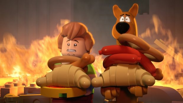 Shaggy and Scooby in LEGO Scooby-Doo: Haunted Hollywood