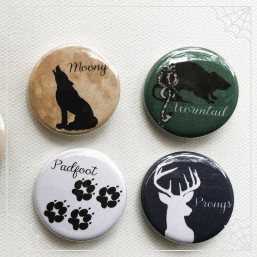 Marauders Buttons