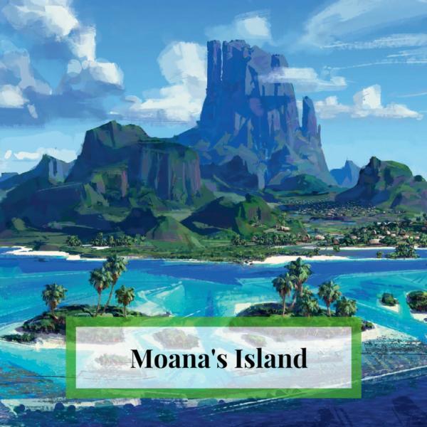 Moana's Island Ambient Sounds
