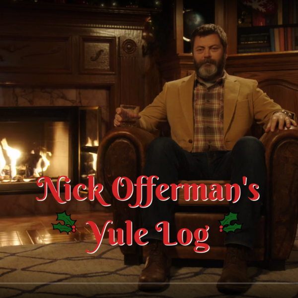 Nick Offerman's Yule Log