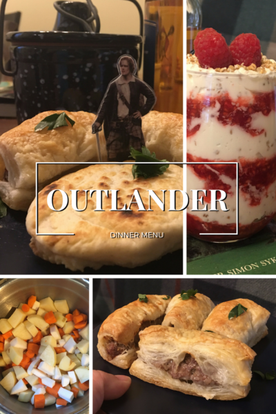 Outlander Dinner Menu and Recipes