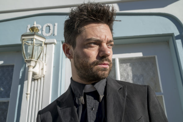 Dominic Cooper as Jesse Custer - Preacher _ Season 1, Episode 1 - Photo Credit: Lewis Jacobs/Sony Pictures Televsion/AMC