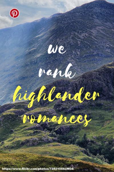 We rank Highlander romance novels and authors