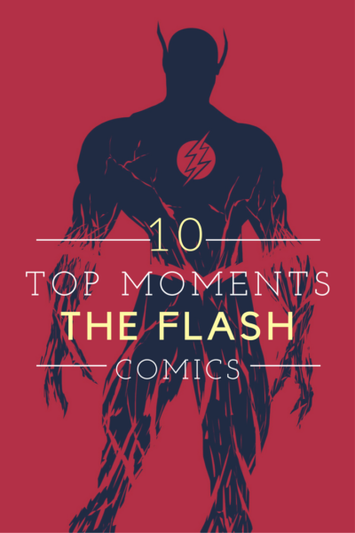 Top 10 The Flash Moments in Comic Books