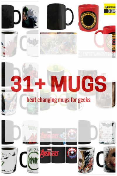 31+ Heat Changing Mugs