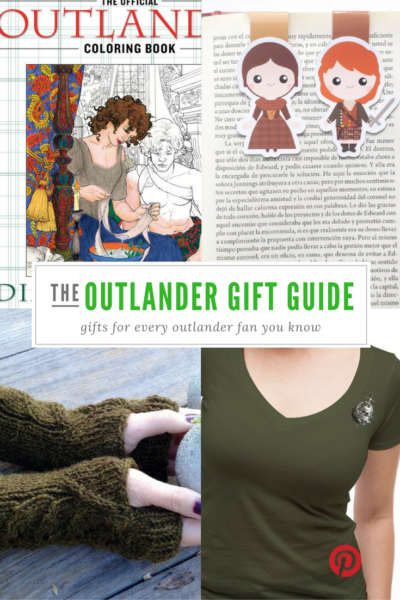 Check out our Outlander gift guide!