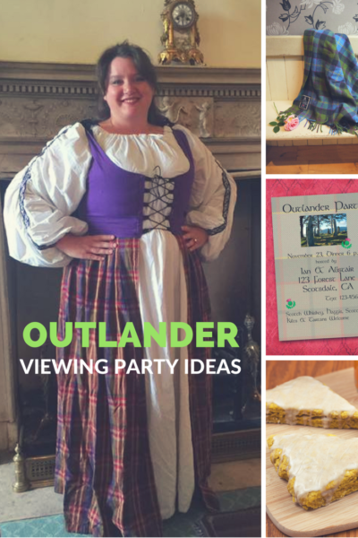 Check out my ideas for an Outlander viewing party!